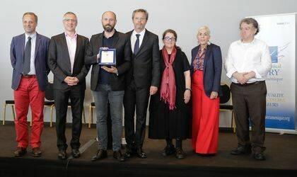 Los miembros del jurado junto a Terrence Malick, a la derecha del todo. / Cannes ecuménica jury