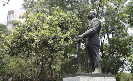 Estatua de Martin Luther King en México D.F. / Wikimedia