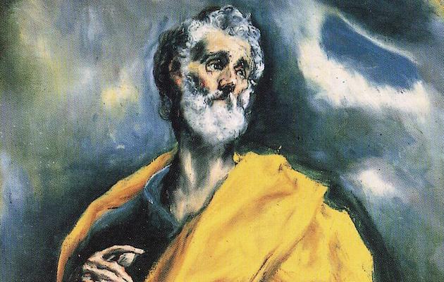 El apóstol Pedro pintado por El Greco. / Wikimedia Commons,