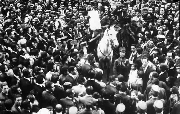 Anuncio del gobierno de Primo de Rivera. / Wikipedia,