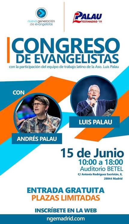 Congreso de evangelistas en Madrid convoca a más de 650 participantes