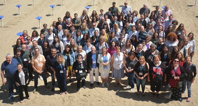 Un grupo de los participantes en Bridge, la quinta conferencia de la Red Europea por la Libertad (EFN). / EFN,