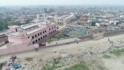 La New Covenant Christian School, en Faisalabad, Pakistán. / Iftikhar Indryas.