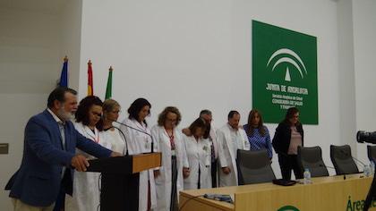 Un momento de oración durante el acto. / A. Bonilla, CEAA