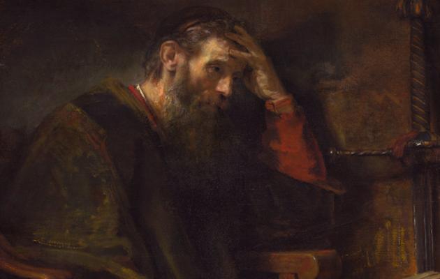 Pablo, el apóstol. Un cuadro de Rembrandt van Rijn, de 1657. / Wikimedia Commons,