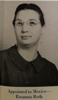 Rosana Roth, llegó a México en agosto de 1959, su labor fue clave en San Juan.