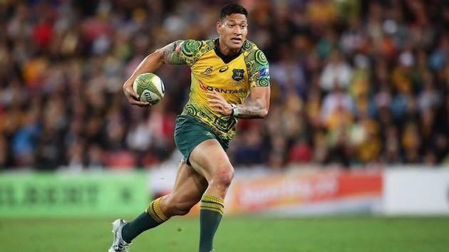 Folau ha sido candidato a mejor jugador de rugby del mundo en dos ocasiones. / Facebook Israel Folau,