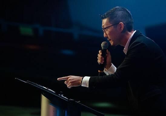 Michael Oh, director del Movimiento Lausana, abrió el encuentro. / Movimiento Lausana Global
