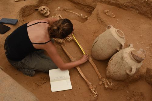 Excavaciones es Ascalón, una de las ciudades filisteas. / Leon Levy Project,