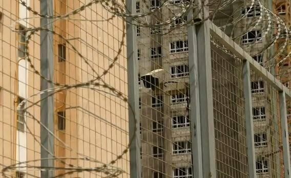 Exterior de uno de los centros de internamiento para menores en la región de Xinjiang. / BBC,