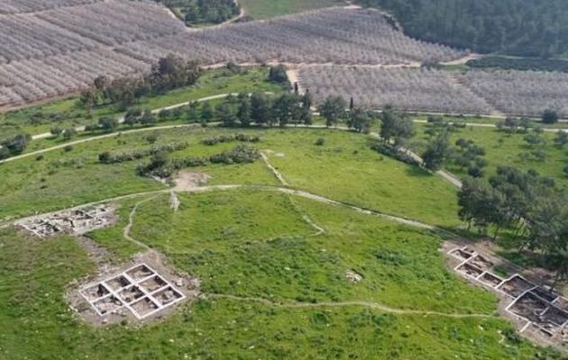 Imagen del asentamiento descubierto. / Ministerio de Exteriores de Israel,