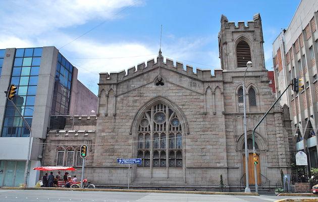 Templo metodista El Mesías, sede de las celebraciones de CUPSA.,