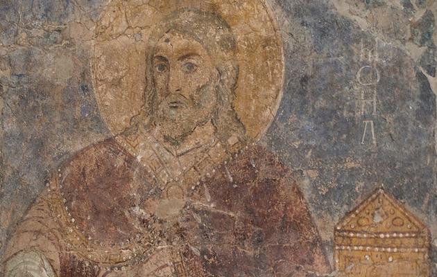 Fresco de Samuel en el Monasterio de Mikhailovskr, en Kiev. / Wikimedia Commons,