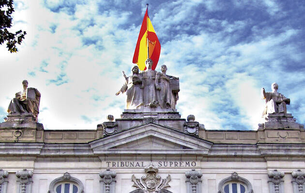 Tribunal Supremo, en Madrid. / Concepción Amat Orta, Wikimedia Commons (CC 3.0),