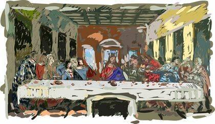 La disputa central entre Lutero y Zwinglio tuvo que ver con la celebración de la Santa Cena./ Pixabay.