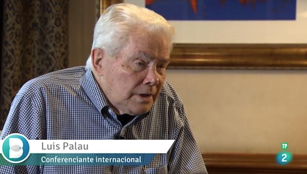 Luis Palau, entrevistado en Buenas Noticias TV. / TVE,