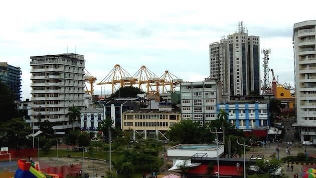 Centro y puerto de Buenaventura, Colombia. / Wikipedia,