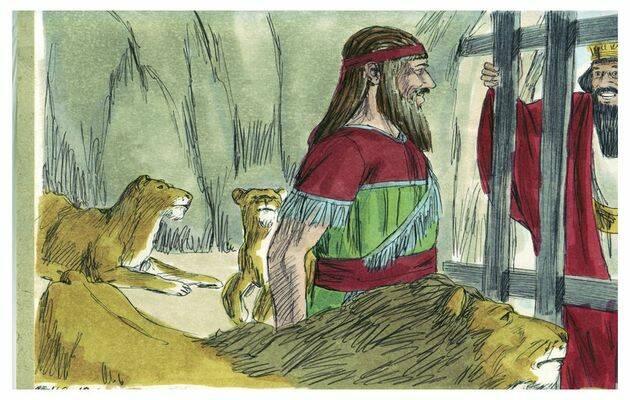 Los leones hoy parecen tranquilos. / Free ible Images (CC),