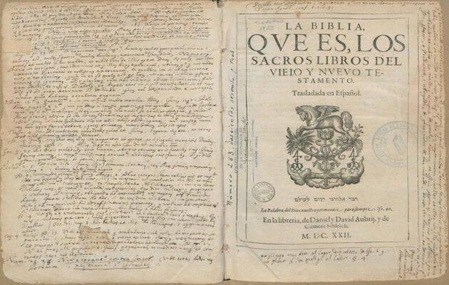 Biblia del Oso. (CC0),