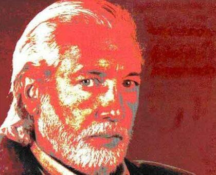 El poeta Guillermo Ibañez.
