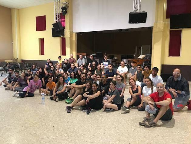 Parte del equipo de Musicart que participa en el nuevo musical sobre Las Crónicas de Narnia. / Musicart,