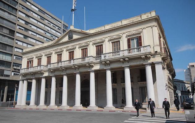 Palacio Estévez, antiguo Palacio de Gobierno de Uruguay. / José Castillo Urquiza, Wikipedia (CC 3.0),