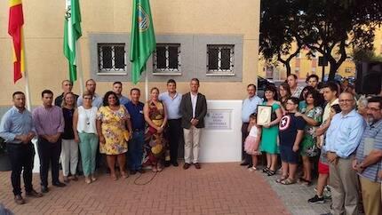 El alcalde destacó la labor de la iglesia evangélica en Rota. / Ay. Rota