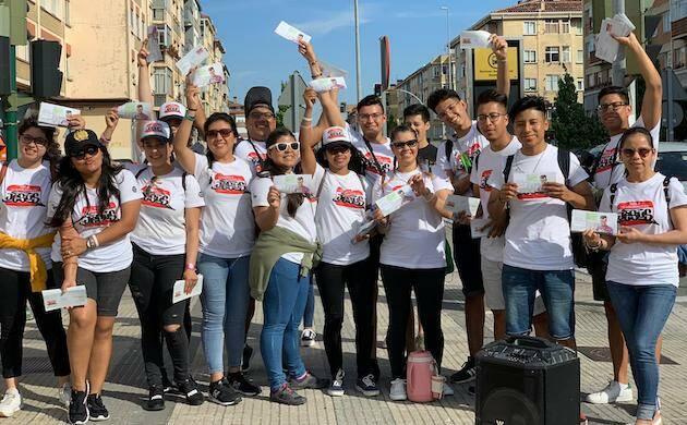 Jóvenes participantes de la campaña de verano. / FADE,