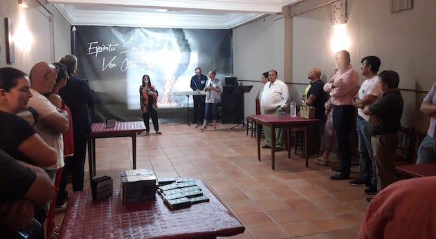Acto de apertura del local de la Iglesia Buenas Noticias en Benavente.,