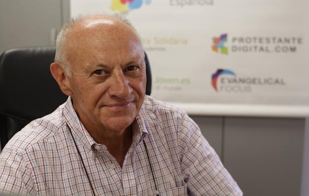 Alberto Crespo, voluntario de Alianza Evangélica Española. / Jonatán Soriano,