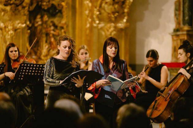 Ensemble Bohórquez, en una presentación en Valladolid. / Juan Pablo Serrano,
