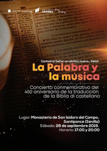 'La Palabra y la música', memoria de la obra de Casiodoro de Reina