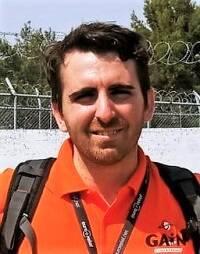 Pau Abad, en Lesbos, septiembre de 2019.