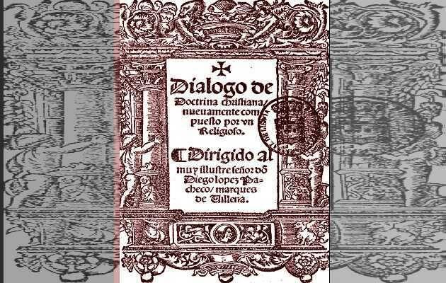 Diálogo de doctrina cristiana, de Juan de Valdés.,