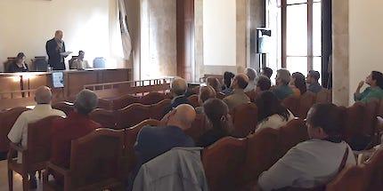 José de Segovia impartió una de las conferencias.
