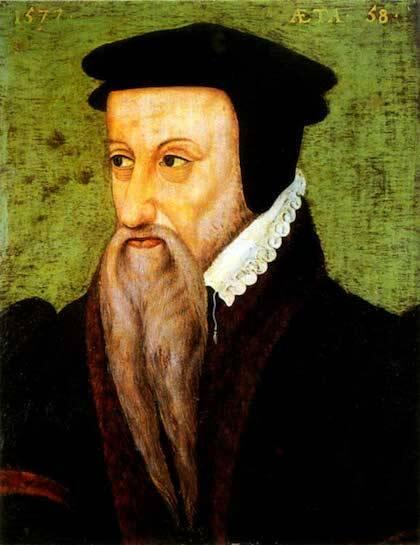 Retrato de Teodoro de Beza.