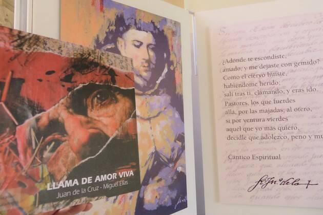 Catálogo Exposición Llama de amor viva. Juan de la Cruz-Miguel Elías. / J. Alencar,