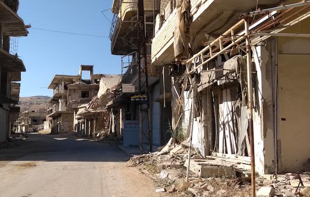 Vista de Zabadani, la ciudad donde comenzó el proyecto de MATES. ,