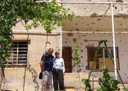 La casa de Habib, rehabilitada.