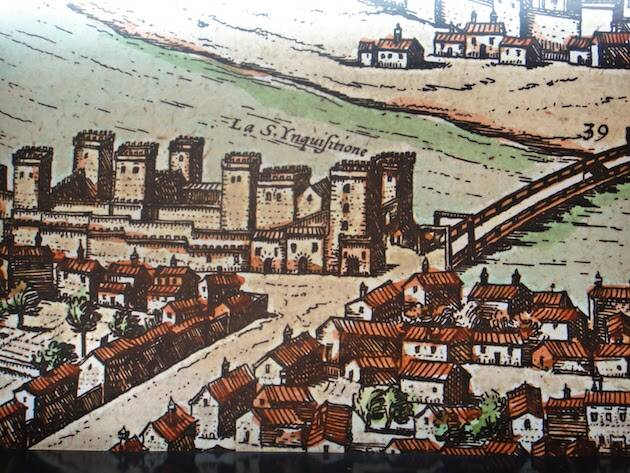 Grabado de Sevilla del Siglo XVI.,