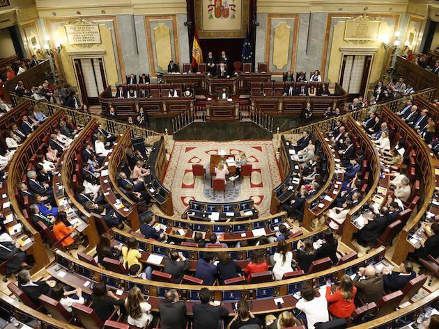Una sesión en el Congreso de los Diputados. / Congreso,