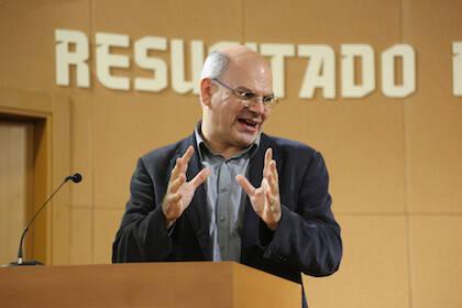 José de Segovia ha sido el encargado de la conferencia principal. / M. Gala