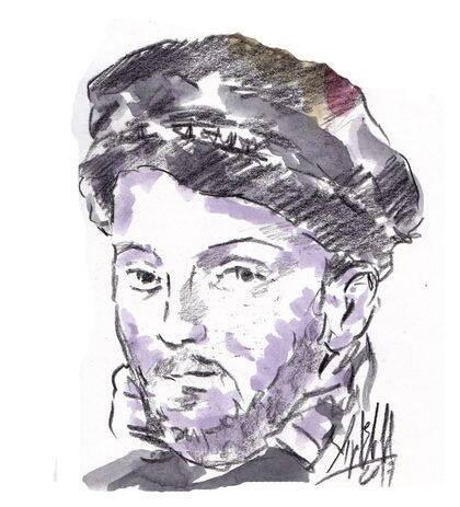 Retrato imaginado de Casiodoro de Reina, de Miguel Elías.