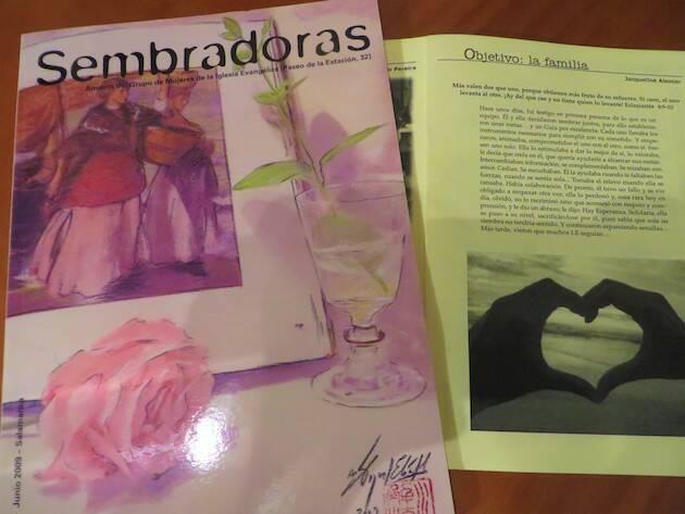 Portada de la revista Sembradoras. / Jacqueline Alencar,
