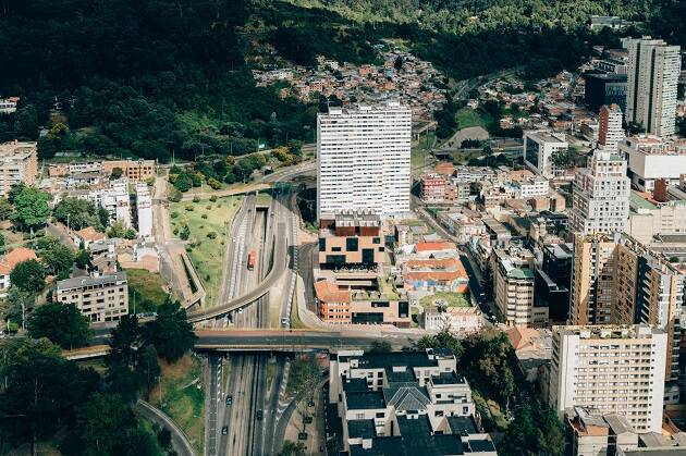Bogotá, en Colombia. / Unsplash, CC0,