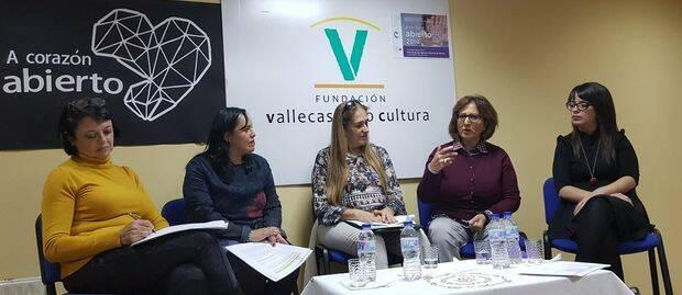 De izda. a dcha. A. Quintana, D. Castillo, MG López Cerezo, T. Peramato y E. Gzlez. Prieto.