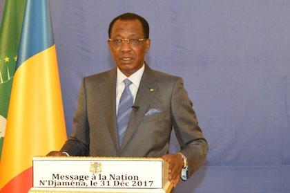 El presidente de Chad, Idriss Déby, en el poder desde 1990. / Twitter @IdrissDebyI