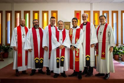 Miembros del consejo de la IELE durante la asamblea general. / IELE