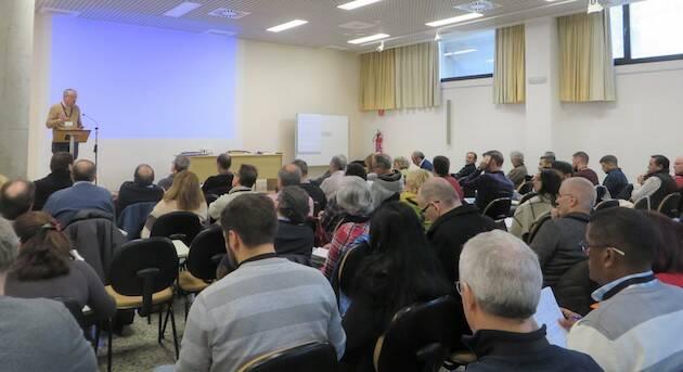 El IX encuentro anual del Movimiento Lausana en España ha reunido a unas 70 personas. / Jacqueline Alencar,