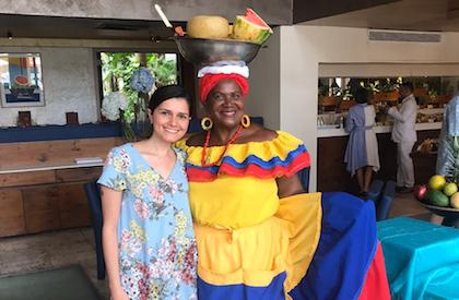 La mujer palenquera es la fuente principal del sustento del pueblo y un símbolo de Colombia. / AS